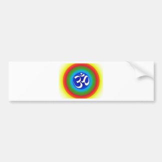 Rainbow_om Bumper Sticker