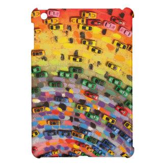 Rainbow Toy Cars Case For The iPad Mini