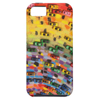 Rainbow Toy Cars Case For The iPhone 5