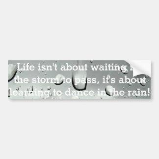Raindrops Photography Bumper Sticker