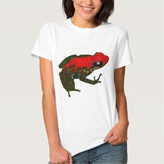 Rainforest Dart Frog Tee Shirts