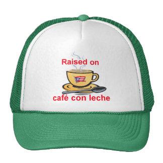 raised on cafe con leche cap