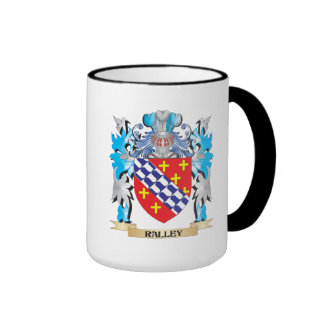 Ralley Coat of Arms - Family Crest Ringer Mug