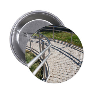 Ramp for physically challenged from the granite pa 6 cm round badge