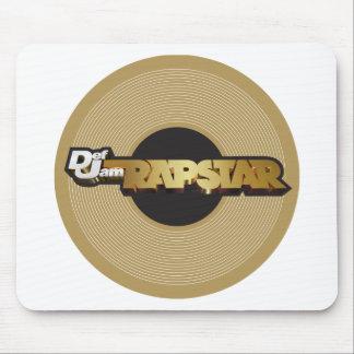 Rapstar Vinyl Mouse Pad