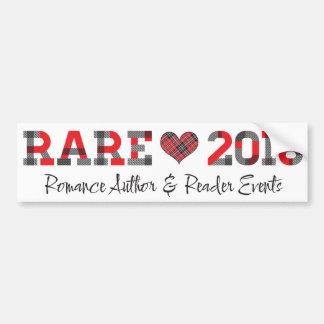 RARE16 red bumper sticker