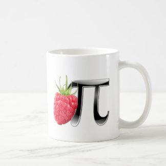 Raspberry and Pi symbol Basic White Mug