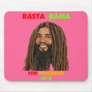 Rasta Bama, President Obama in Dreadlocks Mouse Pad
