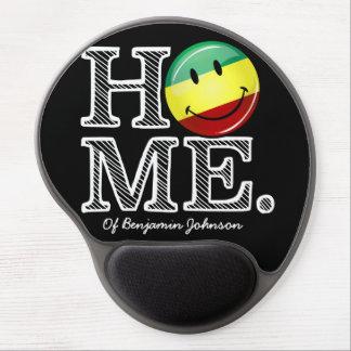 Rastafari Pride Smiling Flag Housewarming Gel Mouse Pad