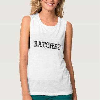 Ratchet Flowy Muscle Tank Top