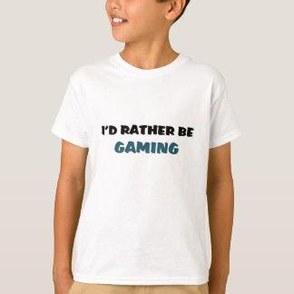 Rather be gaming tee shirts
