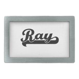 Ray Classic Retro Name Design Belt Buckles