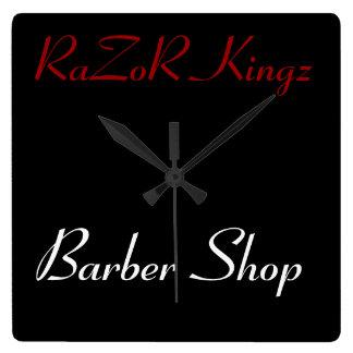 RaZoR Kingz Barber Shop Promotional Clocks