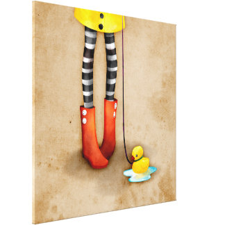 _rd stretched canvas print