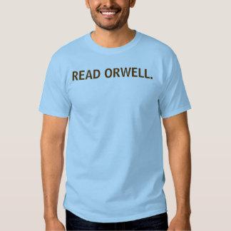 READ ORWELL. SHIRTS