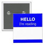 Readers Advisory 15 Cm Square Badge