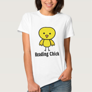 Reading Chick T-shirts