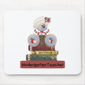 Reading, Writing, Arithmetic Kindergarten Teacher Mouse Pad