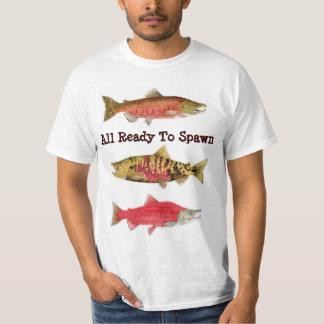 Ready to Spawn- Salmon Shirts