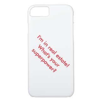 Real Estate Superpower iPhone 7 Case