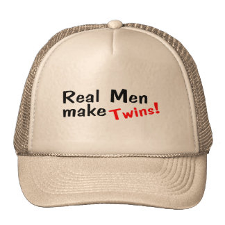 Real Men Make Twins Cap