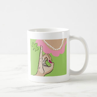 Real Pretty Girl Sorority Fun Basic White Mug