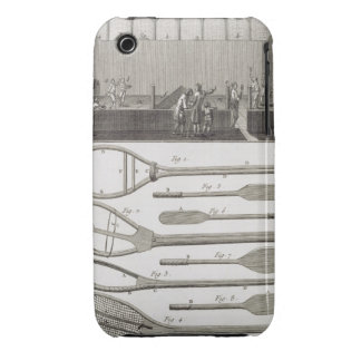 Real tennis and the construction of racquets, from iPhone 3 covers