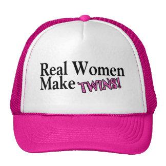 Real Women Make Twins (Pink) Cap