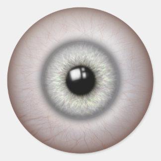 realistic looking eyeball stickers