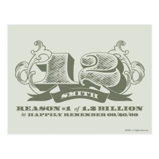 Reason #1 of 1.3 Billion Postcard