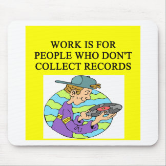 RECORD collector Mouse Pad