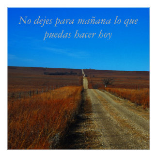 Recovery poster Spanish language