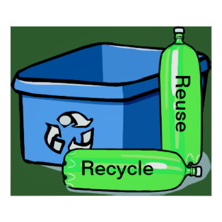 Recycle Reuse Poster