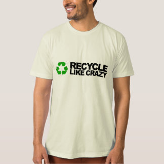 Recycle (soft, organic, made in USA) T-shirt