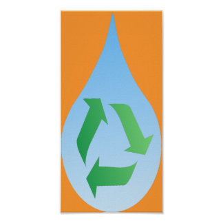 Recycle Water Poster