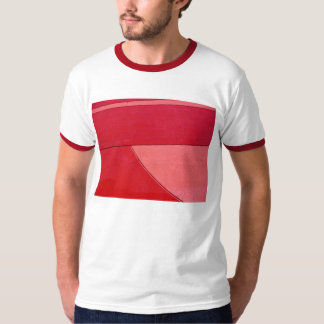 Red Abstract Tshirt