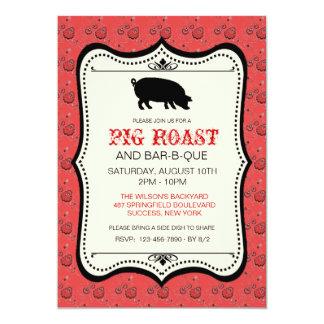 Red Bandana Bar-B-Que Invitation