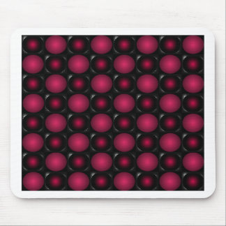 Red bubbles interesting unusual cricketdiane art mouse pad