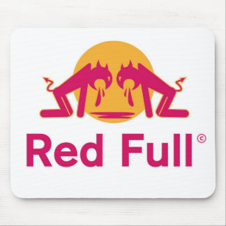 RED-BULL MOUSE PAD