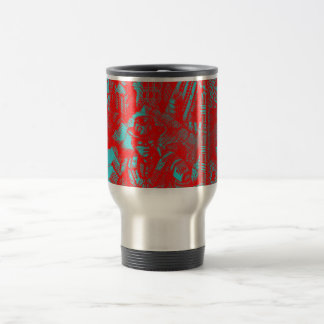 Red Cowboy Travel Mug