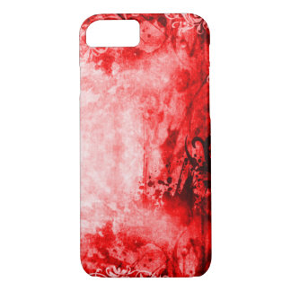Red Fairy Tale Grunge iPhone 7 Case