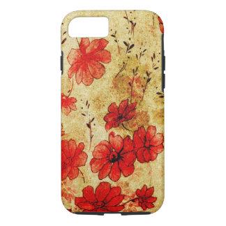Red Grunge iPhone 7 case