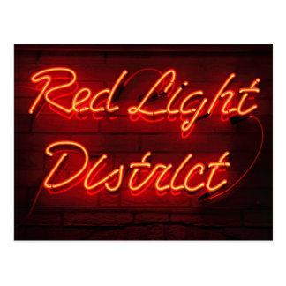 Red Light District Postcard