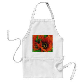 Red Poppies Standard Apron