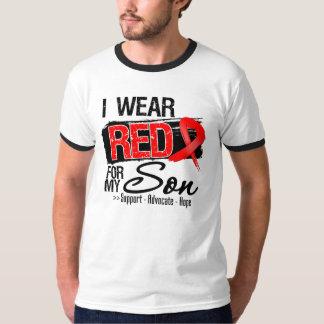 Red Ribbon Awareness - Son T Shirts