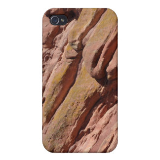 Red Rock Texture Cases For iPhone 4