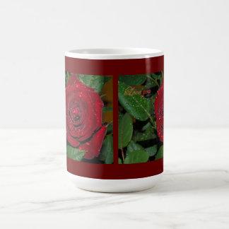 Red Rose #2 Basic White Mug