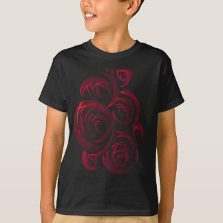 Red Roses in the Dark Tshirts
