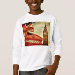 Red telephone booth and Big Ben in London, England Tee Shirt