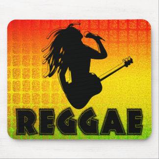 Reggae Rasta Rastafarian Jamaican Mousepad